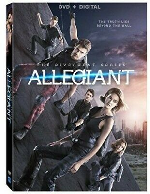 The Divergent Series: Allegiant [New DVD] Ac-3/Dolby Digital, Dolby, Widescree
