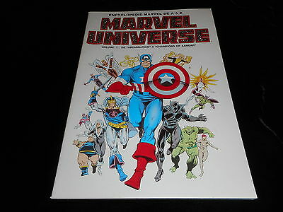 Encyclopédie Marvel Universe 1
