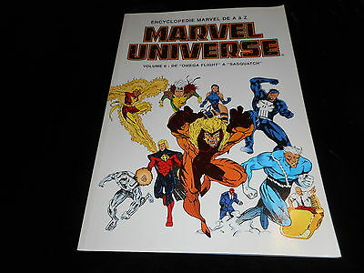 Encyclopédie Marvel Universe 6