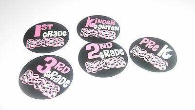 Pre Cut One Inch Images KINDERGARTEN THRU FOURTH GRADE ROCK #3 Free Shipping