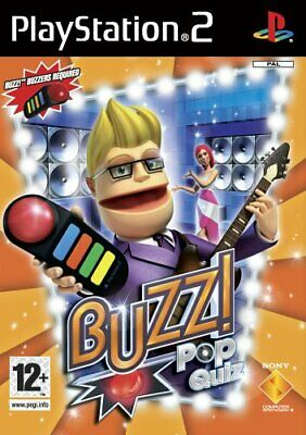 Buzz! Pop Quiz - Solus (PS2) - Game  C6VG The Cheap Fast Free Post
