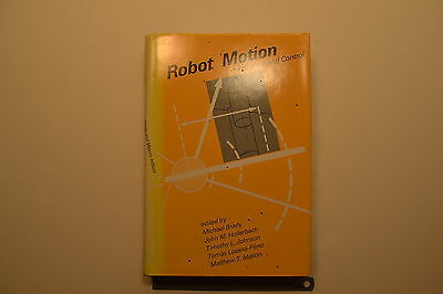 #JB41 ROBOT MOTION: Planning and Control Book  1982 585 pgs Engineers Machinist
