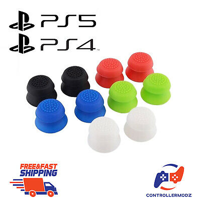 2x PS4 Thumbstick Extender Analog Thumb Grips Sticks Mod Sony PS4 Controller