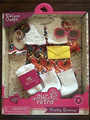 Our Generation Retro Pretty Groovy Outfit For 18 In Doll