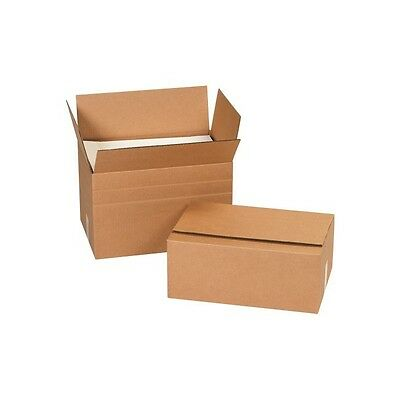 Kraft 18 x 6 x 6 25/Bundle Long Corrugated Shipping/Packing/Moving