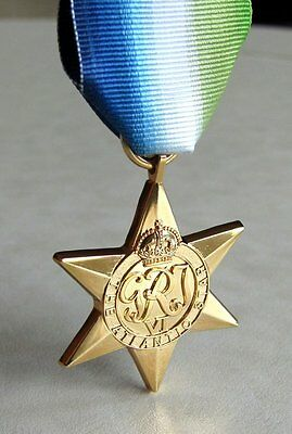 Canada Canadian - British & Commonwealth The Atlantic Star Medal WWII