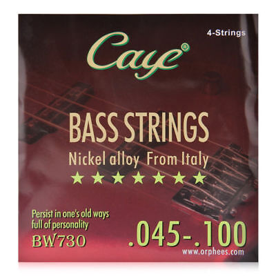 CAYE BW730 Electric Bass Strings (.045-.100) nickel alloy 4pcs set