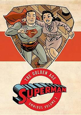 Superman: The Golden Age Omnibus, Volume 2 by Jerry Siegel (English) Hardcover B