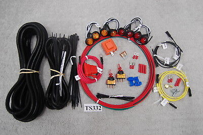 Ts332Cac Can-Am Commander Led Turn-Signal Kit Universal Fits Most Side By Sides