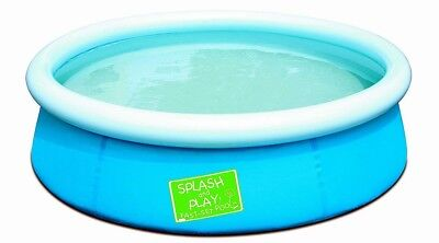 Bestway 57241 - Splash and Play Pool, Schnellaufbau (Quick-Up), Blau
