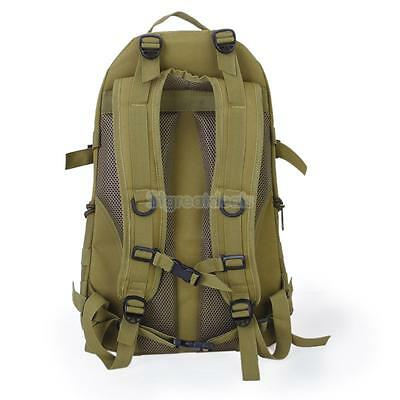 35L Tactical Rucksack Backpack Bag Pack Travel Camping Hiking Outdoor Sports
