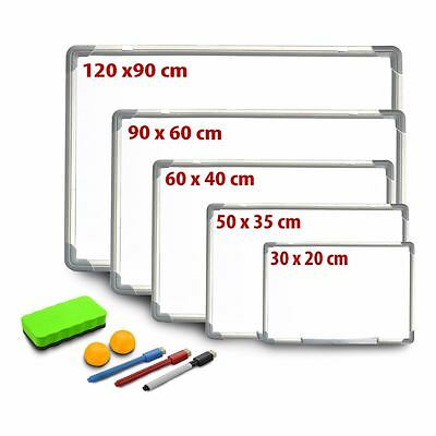 New Magnetic Wipe White Board Office Home Dry Notice Memo Marker And Eraser