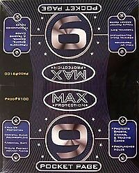 Max Protection 9-Pocket Pages Ringbucheinlagen (100)