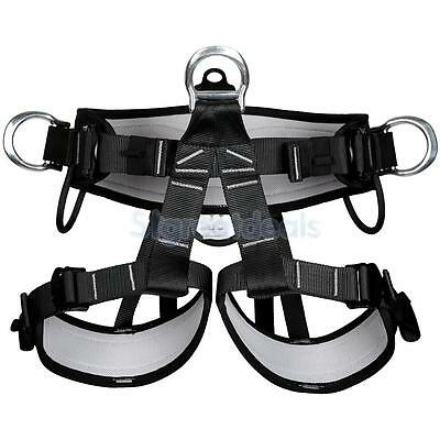 Mountaineering Rock Tree Climbing Rigging Fall Arrest Safety Harness Equip