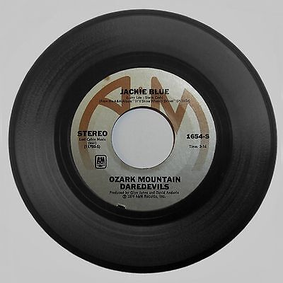 1975 Ozark Mountain Daredevils 'Jackie Blue/Better Days' #1654-S A&M 45 RPM NM