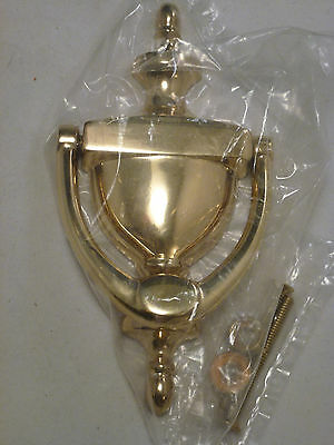 Vintage Classic Design Solid Brass Door Knocker    MADE TO BE ENGRAVED