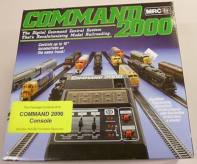 MRC Command 2000 Digital Command Control System AD090 New