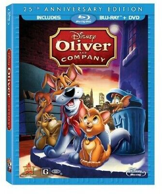 Oliver & Company: 25th Anniversary Edition [New Blu-ray] With DVD, 2 Pack, Ac-