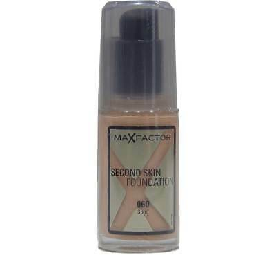 Max Factor Second Skin Foundation 060  Sand - 30ml