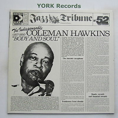 COLEMAN HAWKINS - The Indispensable ... Body & Soul - Ex Double LP Record RCA