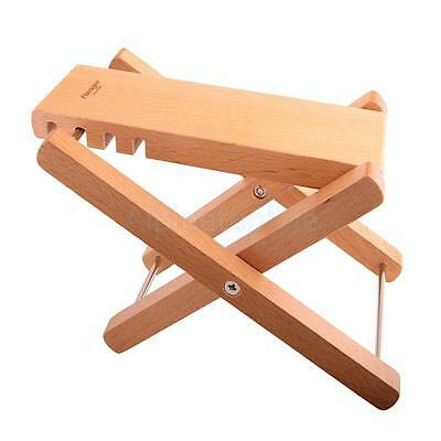 High Quality Oak Wood Folding Guitar Foot Stool Rest Guitar Pratical Parts