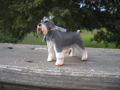 SCHNAUZER dog by Safari Ltd; toy/replica NEW 2009