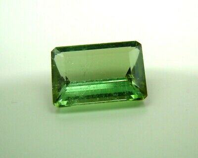 Echter facettierter achteckiger Turmalin ( 6,08 Carat ) 13,8 x 10 mm  in Box