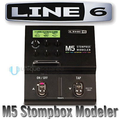 Line 6 M5 Stompbox Modeler Digital Effects Pedal
