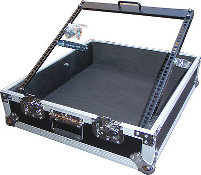 "Speed Case SC12MIX 19"" 12RU mixer flightcase with adjustable frame NEW"