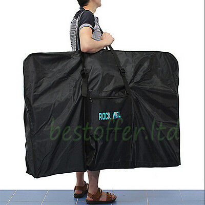 "26"" MTB Mountain Bicycle Bike Carrier Bag Carry Cover 1680D Storage Bag Pouch UK"