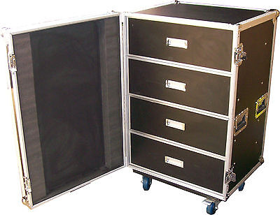 Speed Case 4 Draw utility case / tool case on wheels NEW