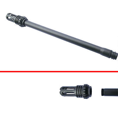 """Paintball 14"""" Bore Size .690 Tactical Barrel For Tippmann 98 with ⑤ Muzzle Brake"""