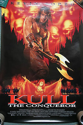 John Nicolella, Kevin Sorbo KULL The Conqueror 1997 US Dble Sided Movie Poster