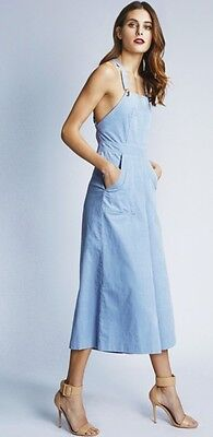 885e01f879 NWT Alice McCall Super Fly Overalls in Powder Blue - Wide Leg Goucho  Corduroys
