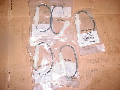 Lot OF 5 AGC Fuse Holder In-line Twist LOCK type WITH ELECTRICAL WIRE