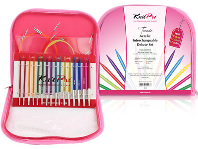 KnitPro Trendz Interchangeable Knitting Needle Set