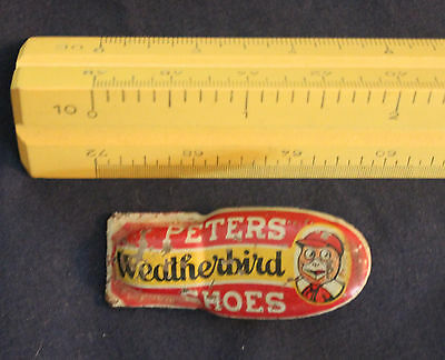 Original Vintage Peters Weatherbird Shoes Clicker Noise Maker