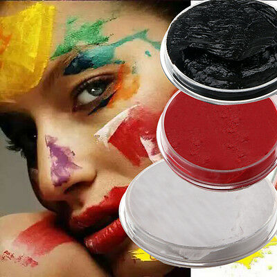 Face Paints 3 Colors Cream Makeup Masquerade Party Halloween Fancy Carnival New
