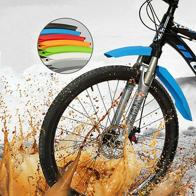 Bike Cycling Mudguards Mountain MTB Cycling Fender Front & Rear Mud Guards Set