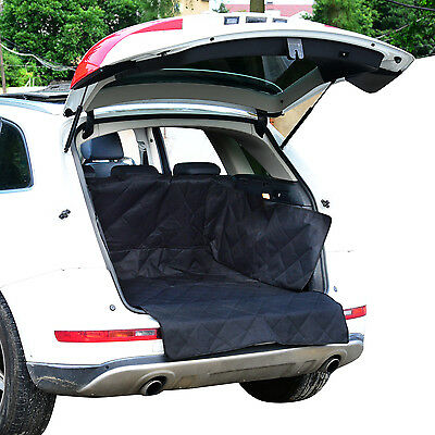PawHut Waterproof Oxford Pet Dog Back Car Seat Cover Padded Blanket Barrier