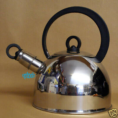 SunnCamp Nouveau Stainless Steel Whistling Kettle 2L Camping Fishing Festival