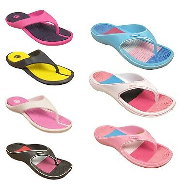 Womens Ladies Flip Flops Summer Beach Casual Festival Pool Slip On Slippers