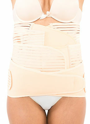 3 in 1 Postpartum Belly/Waist/Pelvis Postnatal Shapewear Slimming Maternity Belt