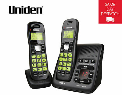UNIDEN 1635+1 DECT Digital Phone System With Power Failure Backup^