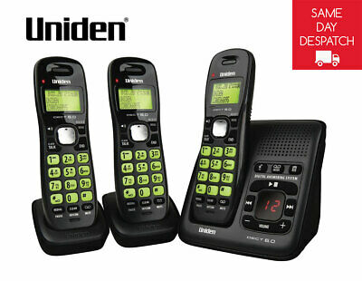 UNIDEN DECT 1635+2 Digital Phone System With Power Failure Backup^