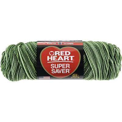 """/""""Red Heart Super Saver Yarn-Woodsy Set Of 3/"""""""