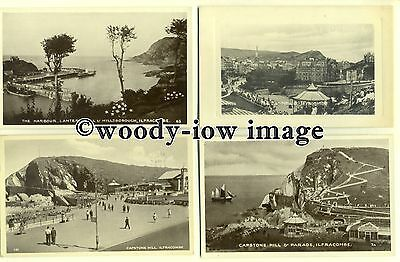 tb0003 - Devon - 4 x  Postcards of Various Holiday Ilfracombe Scenes - Postcard