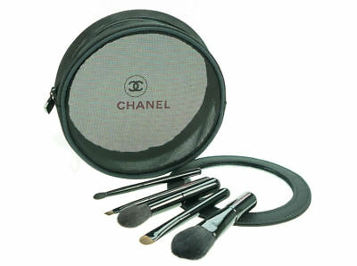 Chanel Collection Of 5 Essential Mini Make-Up Brushes - Cosmetics Brush Gift Set