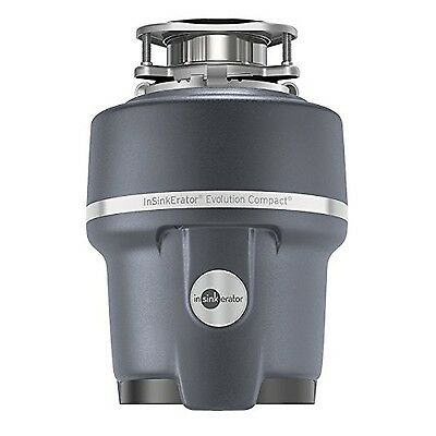 InSinkErator Evolution Compact 3/4 HP Household Garbage Disposer Grey