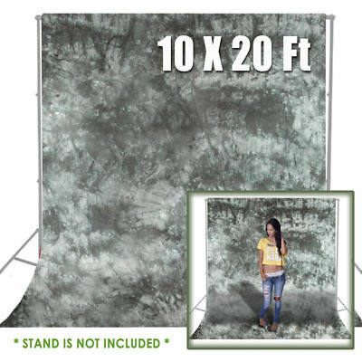 10 x 20 Gray Backdrop Muslin Photo Background Photography Grey Studio Cloth